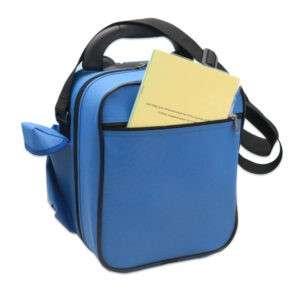 Вариант дополнения комплекта каркасной сумкой (документация во внешнем кармане)
