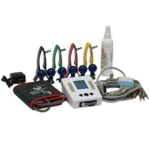 Комплект ГемоКард для поставки в ФАПы и кабинеты врачей общей практики: прибор, манжета, принадлежности для регистрации ЭКГ в 12 отведениях, зарядное устройство