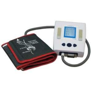 Прибор с манжетой, прибор укомплектован для регистрации ЭКГ в 1 отведении